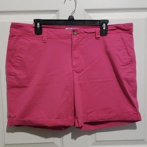 Old Navy Cotton shorts in pink